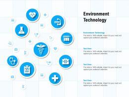 Environment Technology Ppt Powerpoint Presentation Icon Portfolio