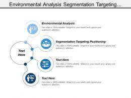 Environmental Analysis Segmentation Targeting Positioning Total Product Concept Branding