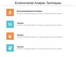 Environmental Analysis Techniques Cpb Ppt Powerpoint Presentation Inspiration Files Cpb