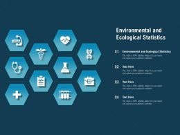 Environmental And Ecological Statistics Ppt Powerpoint Presentation Summary Graphic