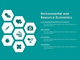 Environmental And Resource Economics Ppt Powerpoint Presentation Outline Portrait