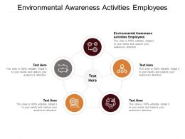 Environmental Awareness Activities Employees Ppt Powerpoint Presentation Infographic Template Cpb