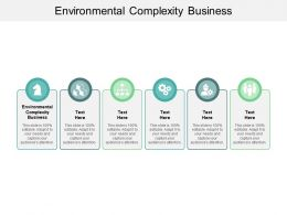 Environmental Complexity Business Ppt Powerpoint Presentation Summary Information Cpb