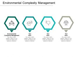 Environmental Complexity Management Ppt Powerpoint Presentation Pictures Graphics Template Cpb