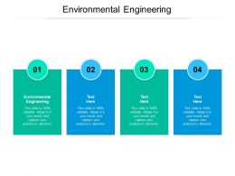Environmental Engineering Ppt Powerpoint Presentation Ideas Inspiration Cpb