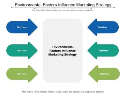 Environmental Factors Influence Marketing Strategy Ppt Powerpoint Presentation Pictures Rules Cpb