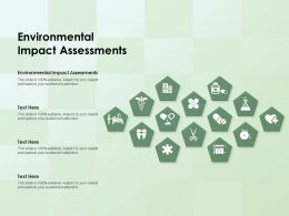 Environmental Impact Assessments Ppt Powerpoint Presentation Infographic Template