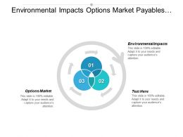 Environmental Impacts Options Market Payables Management Performance Review Cpb