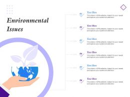 Environmental Issues Audiences Attention Ppt Powerpoint Presentation Slide