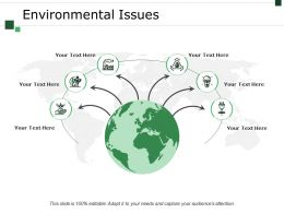 Environmental Issues Example Of Ppt