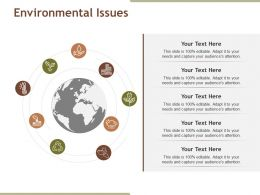 Environmental Issues Powerpoint Images