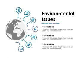 Environmental Issues Powerpoint Slide Images