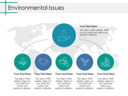 Environmental Issues Ppt Inspiration Samples
