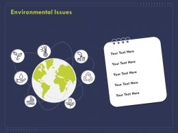 Environmental Issues Ppt Powerpoint Presentation Inspiration Deck