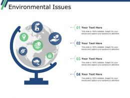 Environmental Issues Presentation Backgrounds