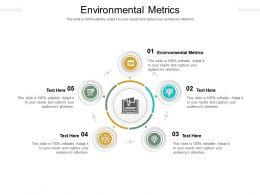 Environmental Metrics Ppt Powerpoint Presentation Show Brochure Cpb