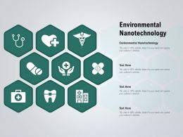 Environmental Nanotechnology Ppt Powerpoint Presentation Icon Master Slide
