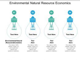 Environmental Natural Resource Economics Ppt Powerpoint Presentation Visuals Cpb