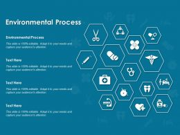 Environmental Process Ppt Powerpoint Presentation Ideas Deck
