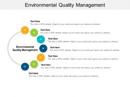 Environmental Quality Management Ppt Powerpoint Presentation Gallery Display Cpb