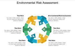 Environmental Risk Assessment Ppt Powerpoint Presentation Model Elements Cpb