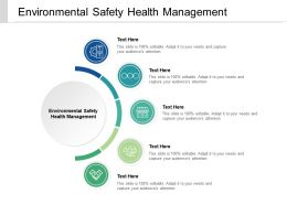Environmental Safety Health Management Ppt Powerpoint Presentation Model Template Cpb