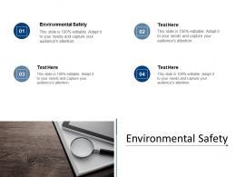 Environmental Safety Ppt Powerpoint Presentation Portfolio Icon Cpb