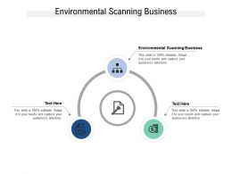 Environmental Scanning Business Ppt Powerpoint Presentation Model Backgrounds Cpb