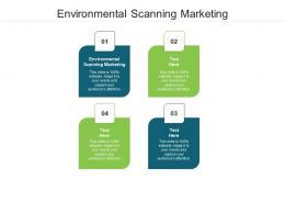 Environmental Scanning Marketing Ppt Powerpoint Presentation Portfolio Pictures Cpb