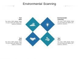 Environmental Scanning Ppt Powerpoint Presentation Styles Templates Cpb