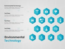 Environmental Technology Ppt Powerpoint Presentation Pictures Guidelines