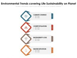 Environmental Trends Covering Life Sustainability On Planet