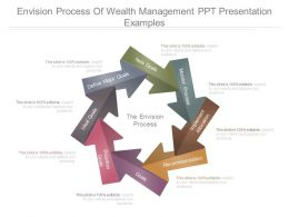 Envision Process Of Wealth Management Ppt Presentation Examples
