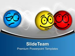 Envy Isolated Different Emotions On Face Powerpoint Templates Ppt Themes And Graphics 0113
