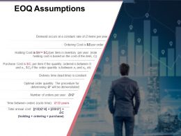 Eoq Assumptions Presentation Powerpoint Templates