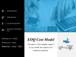 Eoq Cost Model Powerpoint Presentation Templates