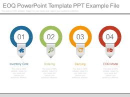 Eoq Powerpoint Template Ppt Example File