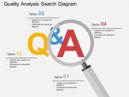 ep Quality Analysis Search Diagram Flat Powerpoint Design