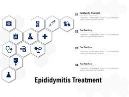 Epididymitis Treatment Ppt Powerpoint Presentation Professional Sample