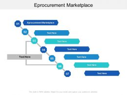 Eprocurement Marketplace Ppt Powerpoint Presentation Summary Clipart Images Cpb
