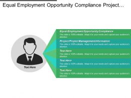 Equal Employment Opportunity Compliance Project Management Information System Cpb