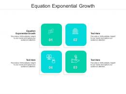 Equation Exponential Growth Ppt Powerpoint Presentation Infographics Graphics Template Cpb