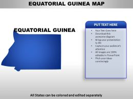 Equatorial Guinea Country PowerPoint Maps