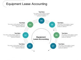 Equipment Lease Accounting Ppt Powerpoint Presentation Outline Master Slide Cpb