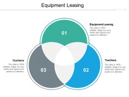 Equipment Leasing Ppt Powerpoint Presentation Gallery Graphics Design Cpb