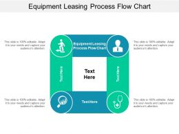 Equipment Leasing Process Flow Chart Ppt Powerpoint Presentation Professional Portfolio Cpb