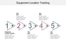 Equipment Location Tracking Ppt Powerpoint Presentation Summary Microsoft Cpb