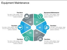 Equipment Maintenance Ppt Powerpoint Presentation Icon Inspiration Cpb