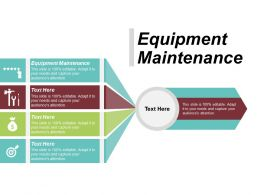 Equipment Maintenance Ppt Powerpoint Presentation Infographic Template Graphics Download Cpb