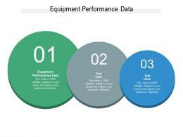 Equipment Performance Data Ppt Powerpoint Presentation Portfolio Ideas Cpb